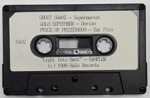 Smashing Pumpkins Light into Dark - Sampler cassette single US SMPCMLI660522