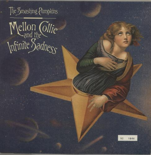 Smashing Pumpkins Mellon Collie And The Infinite Sadness - 1st - EX 3-LP vinyl record set (Triple Album) UK SMP3LME289857