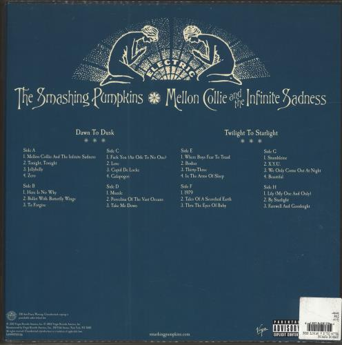Smashing Pumpkins Mellon Collie And The Infinite Sadness - Sealed Vinyl Box Set US SMPVXME696385