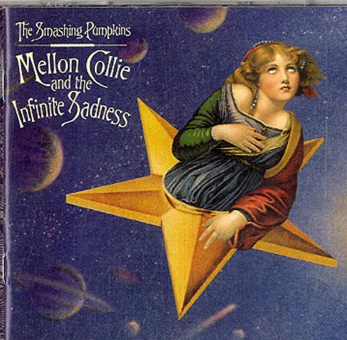 Smashing Pumpkins Mellon Collie And The Infinite Sadness 2 CD album set (Double CD) UK SMP2CME620960