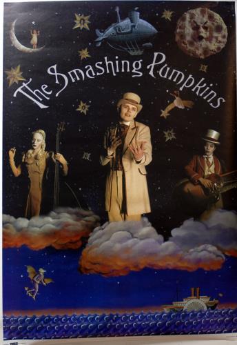 Smashing Pumpkins Poster poster UK SMPPOPO683869