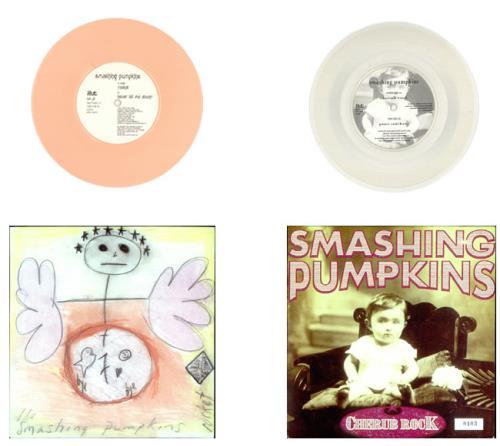 "Smashing Pumpkins Siamese Singles - Rocket / Cherub Rock 7"" box set UK SMP7XSI524587"