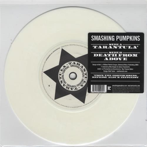 "Smashing Pumpkins Tarantula 7"" vinyl single (7 inch record) UK SMP07TA405431"