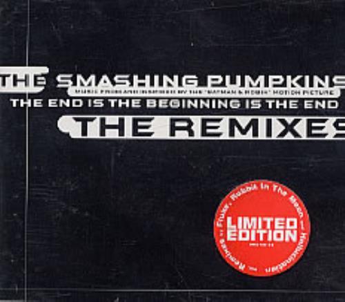 "Smashing Pumpkins The End Is The Beginning - Remixes CD single (CD5 / 5"") German SMPC5TH90298"