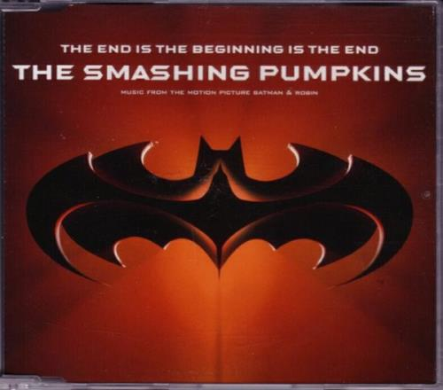 """Smashing Pumpkins The End Is The Beginning Is The End CD single (CD5 / 5"""") German SMPC5TH84999"""