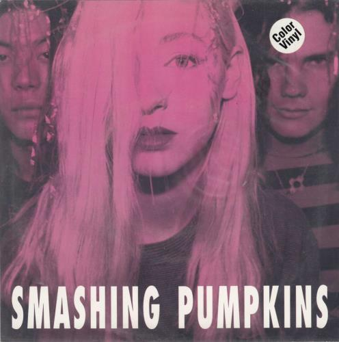 "Smashing Pumpkins Tristessa - Pink Vinyl 7"" vinyl single (7 inch record) US SMP07TR04536"