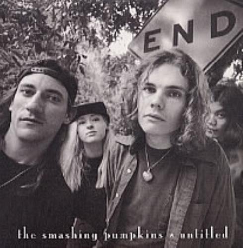 "Smashing Pumpkins Untitled - mispressed 3-track CD single (CD5 / 5"") UK SMPC5UN206428"