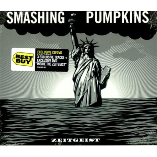 Smashing Pumpkins Zeitgeist - Sealed 2-disc CD/DVD set US SMP2DZE420392