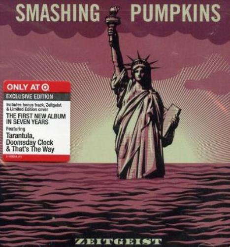 Smashing Pumpkins Zeitgeist - Target Edition CD album (CDLP) US SMPCDZE409503
