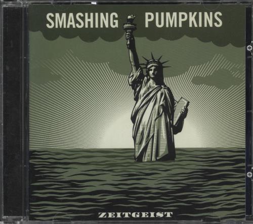 Smashing Pumpkins Zeitgeist CD album (CDLP) UK SMPCDZE721298