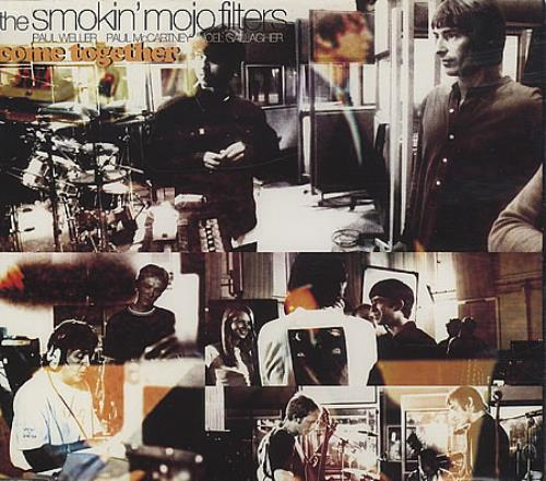"Smokin' Mojo Filters Come Together CD single (CD5 / 5"") UK SMJC5CO60844"