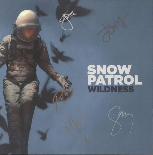 Snow Patrol Wildness - Autographed Display display UK OWPDIWI739261