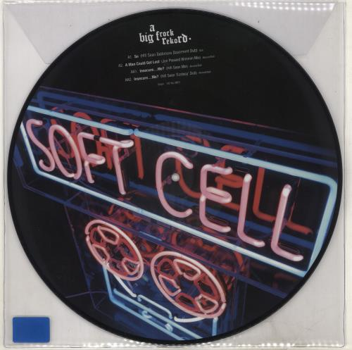 "Soft Cell 2018 Club Remixes EP - Sealed 12"" vinyl picture disc 12inch picture disc record UK SOF2PCL707746"