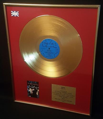 Soft Cell Non Stop Ecstatic Dancing - Gold BPI award disc UK SOFAWNO705981