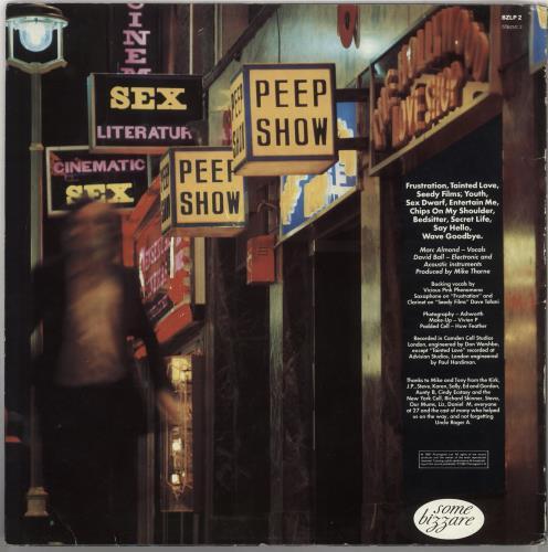 Soft Cell Non-Stop Erotic Cabaret vinyl LP album (LP record) UK SOFLPNO736031
