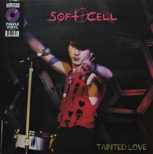 "Soft Cell Tainted Love - Purple Vinyl - Sealed 12"" vinyl single (12 inch record / Maxi-single) US SOF12TA767489"