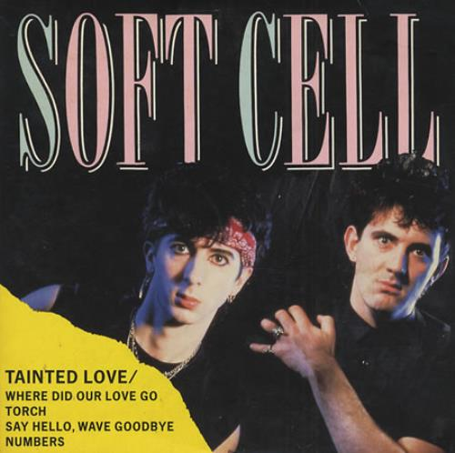 "Soft Cell Tainted Love - Wallet CD single (CD5 / 5"") German SOFC5TA80323"