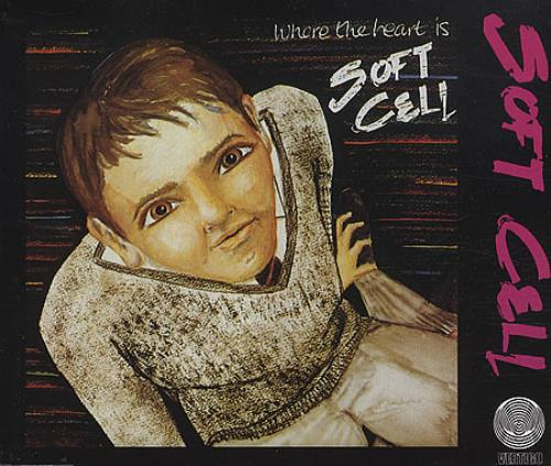 """Soft Cell Where The Heart Is CD single (CD5 / 5"""") German SOFC5WH04584"""