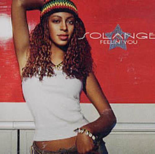 "Solange Knowles Feelin' You CD single (CD5 / 5"") US S/KC5FE237286"