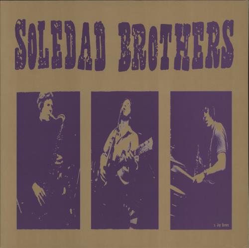 Soledad Brothers Live At The Gold Dollar vinyl LP album (LP record) UK EDALPLI772016