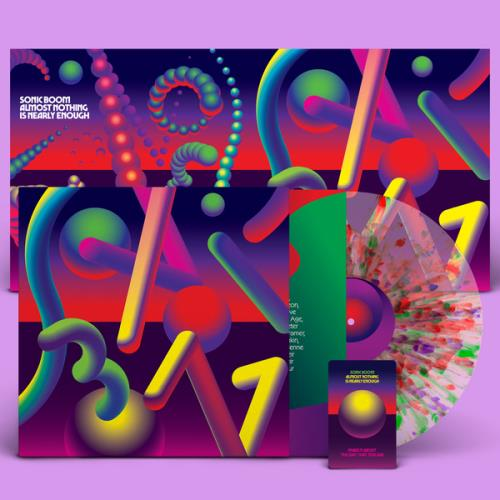 Sonic Boom Almost Nothing Is Nearly Enough - Neon Kandy Vinyl - Foil leeve - Sealed vinyl LP album (LP record) US SNBLPAL767959