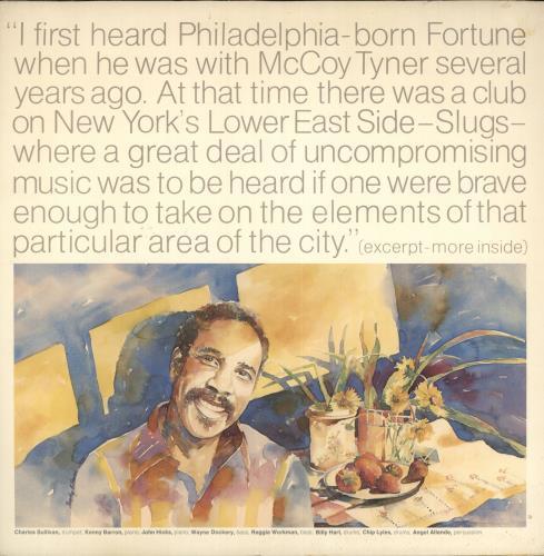 Sonny Fortune Awakening vinyl LP album (LP record) US U27LPAW729623