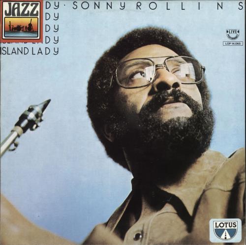 Sonny Rollins Island Lady vinyl LP album (LP record) Italian SOZLPIS723465