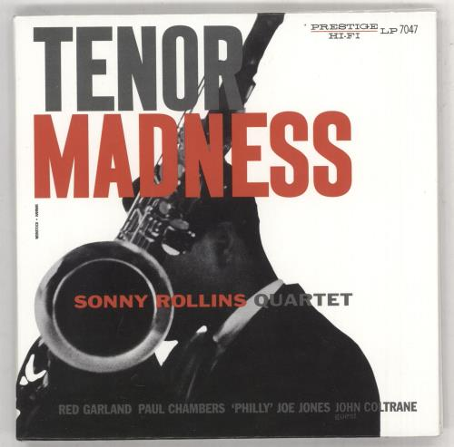 Sonny Rollins Tenor Madness super audio CD SACD US SOZSATE739566