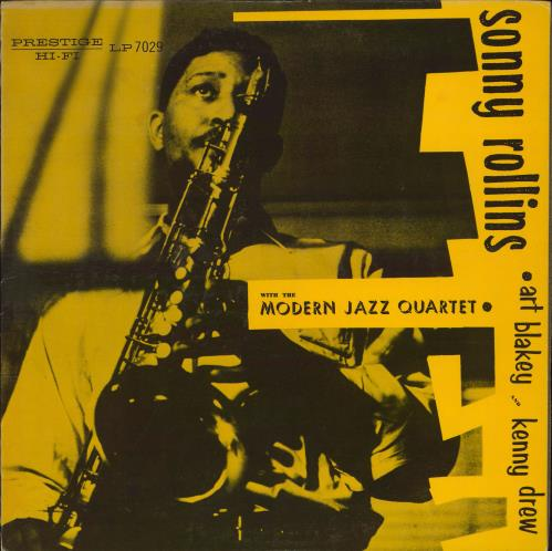 Sonny Rollins With The Modern Jazz Quartet vinyl LP album (LP record) US SOZLPWI605646