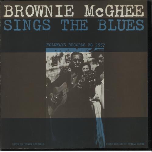 Sonny Terry & Brownie McGhee Sings The Blues vinyl LP album (LP record) US Y&BLPSI648580
