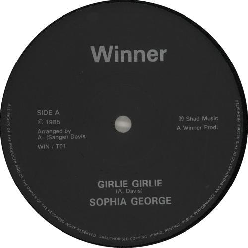 "Sophia George Girlie Girlie 12"" vinyl single (12 inch record / Maxi-single) UK HGG12GI714058"