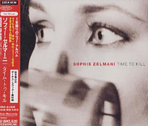 Sophie Zelmani Time To Kill CD album (CDLP) Japanese SZLCDTI208106