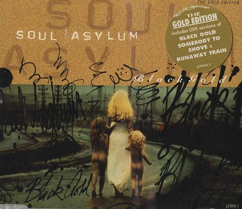 Soul Asylum Black Gold 2-CD single set (Double CD single) UK S-A2SBL458722