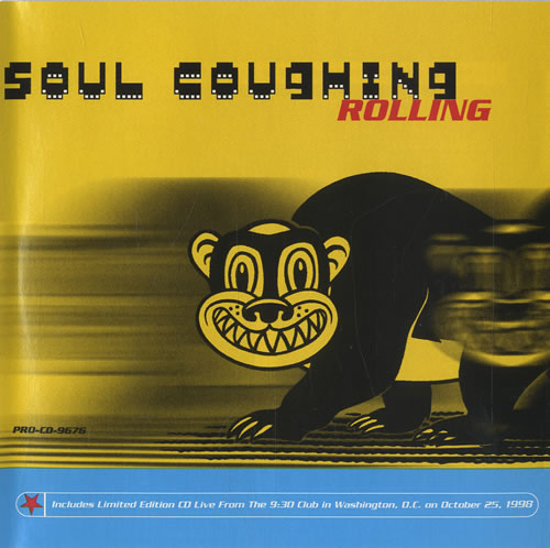 Soul Coughing Rolling + Live CD 2 CD album set (Double CD) US OUG2CRO445748