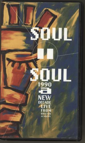Soul II Soul 1990 A New Decade video (VHS or PAL or NTSC) UK STSVIAN254363