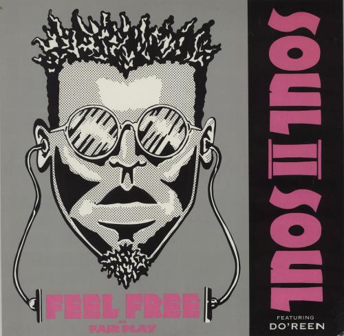 "Soul II Soul Feel Free 12"" vinyl single (12 inch record / Maxi-single) UK STS12FE754354"
