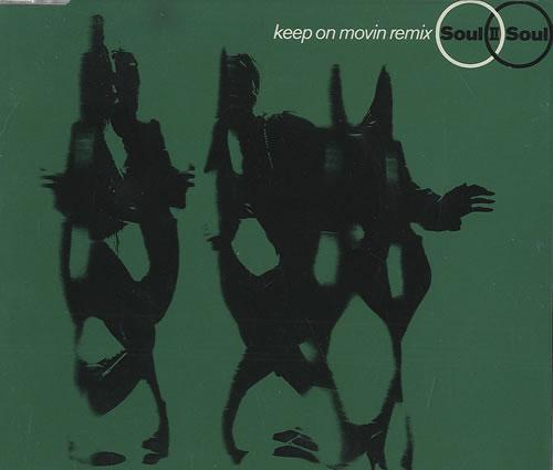 "Soul II Soul Keep On Movin Remix CD single (CD5 / 5"") UK STSC5KE52357"