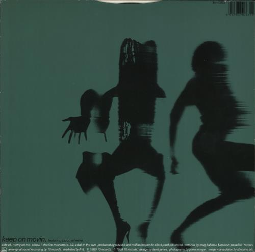 "Soul II Soul Keep On Movin Remix 12"" vinyl single (12 inch record / Maxi-single) UK STS12KE738543"