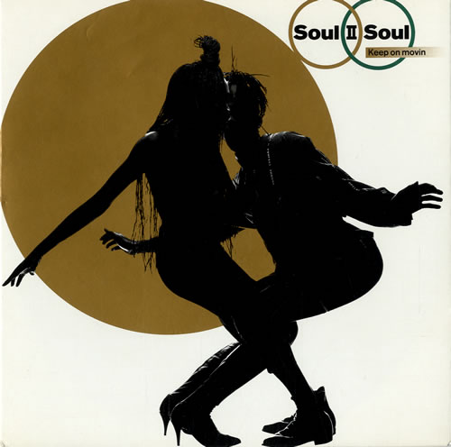 "Soul II Soul Keep On Movin 7"" vinyl single (7 inch record) UK STS07KE578665"