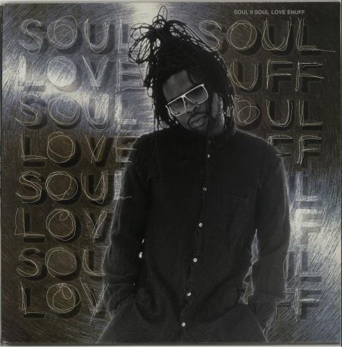 "Soul II Soul Love Enuff 12"" vinyl single (12 inch record / Maxi-single) UK STS12LO653966"
