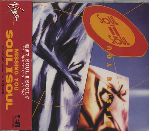 "Soul II Soul Missing You CD single (CD5 / 5"") Japanese STSC5MI539354"