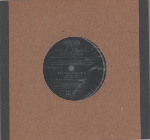 "Soul II Soul Number One Dance Mix - Flexi 7"" vinyl single (7 inch record) UK STS07NU648807"
