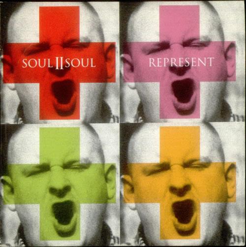 """Soul II Soul Represent CD single (CD5 / 5"""") UK STSC5RE175184"""