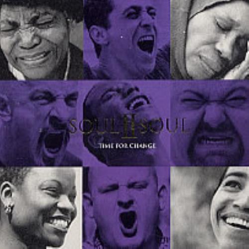 Soul II Soul Time For Change CD album (CDLP) UK STSCDTI233717