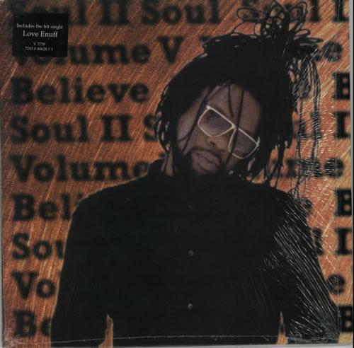 Soul II Soul Volume V: Believe vinyl LP album (LP record) UK STSLPVO599258