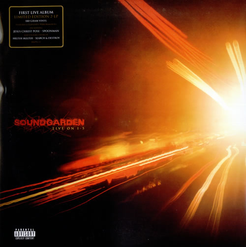 Soundgarden Live On I-5 - 180 Gram Vinyl 2-LP vinyl record set (Double Album) US SOU2LLI535777