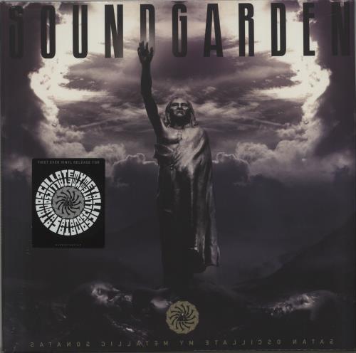 "Soundgarden Satanoscillatemymetallicsonatas - Purple Vinyl - Sealed 12"" vinyl single (12 inch record / Maxi-single) UK SOU12SA662170"