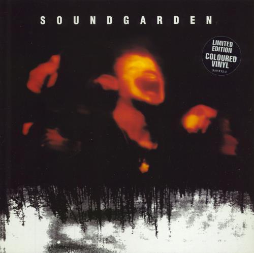 Soundgarden Superunknown - Clear vinyl 2-LP vinyl record set (Double Album) UK SOU2LSU361520