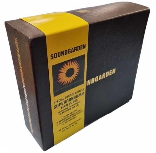 Soundgarden Superunknown Singles - 6 Singles CD Single Box Set UK SOUCXSU58955