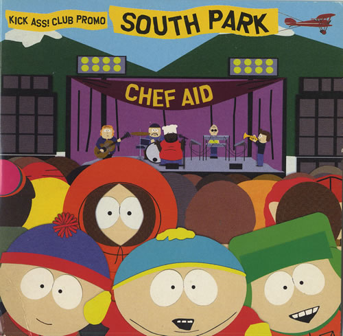 "South Park Chef Aid - Nowhere To Run (Vapour Trail) CD single (CD5 / 5"") UK PRKC5CH469248"
